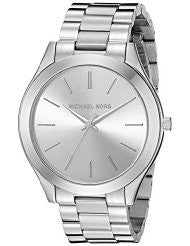 Michael Kors MK3178 Women's Runway Silver-Tone Watch