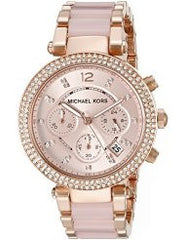 **FREE SHIPPING IN STOCK**Michael Kors Women's Parker Two-Tone Watch MK5896