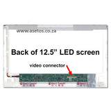 "12.5"" 40 pin LED Laptop Screen with Bottom Right Connector (Resolution = 1366*768 )"