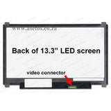 "13.3"" 30 pin Slim LED Laptop Screen With Bottom Right Connector (Resolution = 1366*768 )"