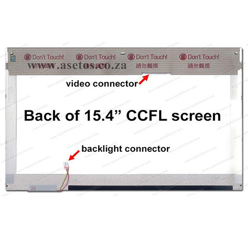 "Refurbished 15.4"" CCFL LCD Laptop Screen (Used)"