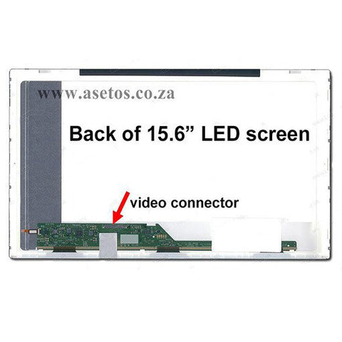 "15.6"" 40 pin LED Laptop Screen with Bottom Left Connector (Resolution = 1366*768 )"