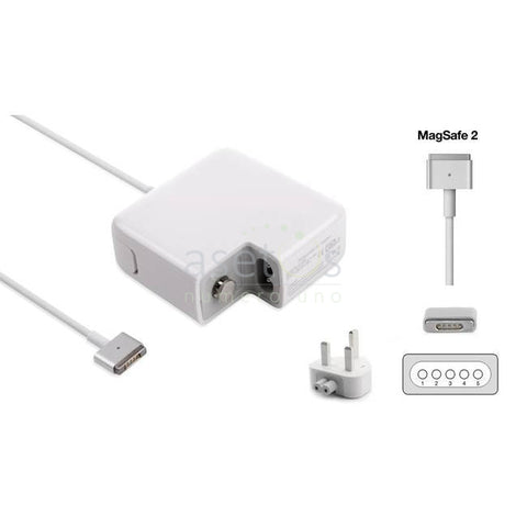 60W Magsafe 2 Apple MacBook Pro Generic Laptop Charger | AC Adapter (16.5V 3.65A) Model  A1435, PSCV600121