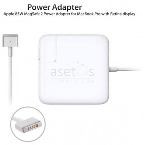 85W Magsafe 2 Apple MacBook Pro Retina Generic Laptop Charger | AC Adapter (20V 4.25A) Model  A1424, ADP-85FB T