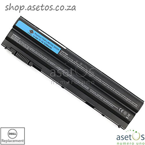 Battery for Dell Latitude E6420 E5520 Battery Black, 11.1V 4400mAh 49Wh