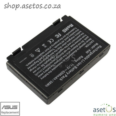 Battery for ASUS A32-F52 A32-F82 L0690L6 K40 K40E K40IJ K40IN K50 K51