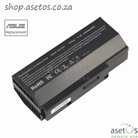 Battery for Asus G53 G53S G53J G53SV G53SX Fits 07G016DH1875 90-NY81B1000Y