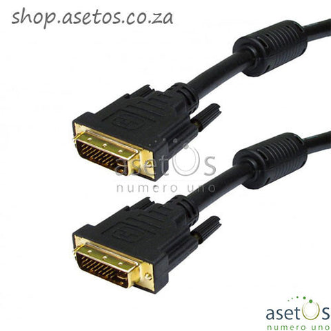 Astrum DVI-D 24+5pin 1.2M Male to Male Cable