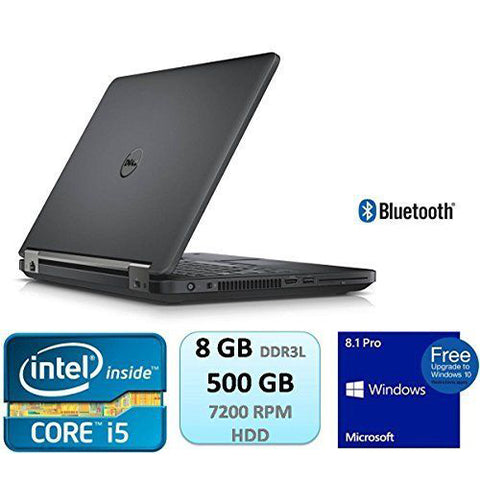 Dell Latitude E5450 Intel Core i5-5300U 2.30GHz, 8GB, 500GB, HDMI,  Windows 10 Pro Notebook Laptop (Used)