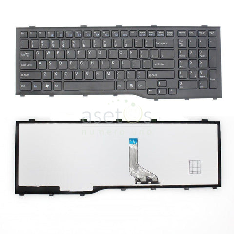 Fujitsu Lifebook Ah532 A532 N532 Nh532 Laptop Replacement Keyboard - US Layout