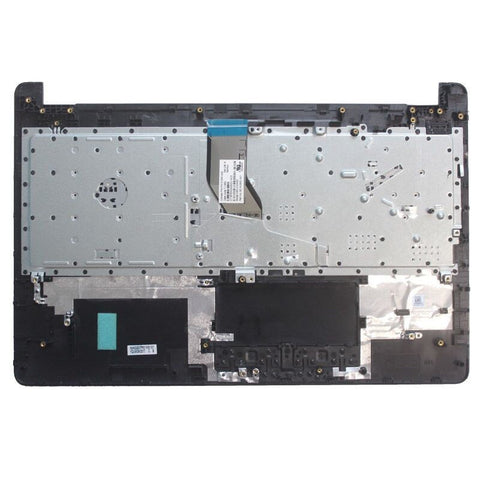 HP 250 G6 255 G6 256 G6 Laptop Replacement Keyboard with Palmrest Cover - US BLACK | HPM16M63U4-698