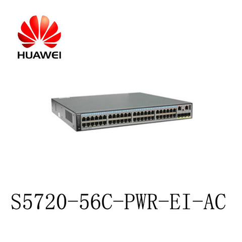 S5720-56C-PWR-EI-AC Huawei Quidway S5700 Series Switch (Refurbished)