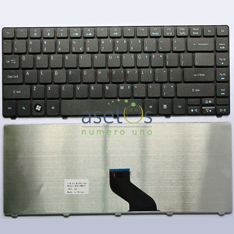 Acer Aspire 3810 3810T 4810T 4810 Laptop Replacement Keyboard - US Layout