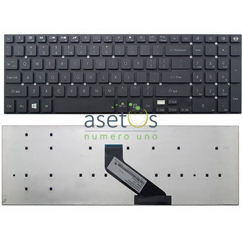 Acer Aspire 5755, 5755G, 5830, 5830G, 5830T, 5830TG, Ethos 5951G, 8951G Laptop Replacement Keyboard - US Layout