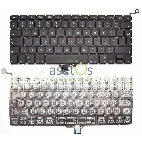 Macbook Pro 13.3 inch Model A1278 | Year 2009 2010 2011 2012 Laptop Replacement Keyboard - US/UK Layout