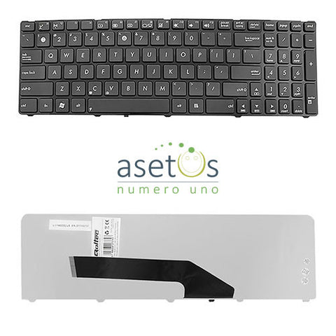 Asus K50 Series with Frame Laptop Replacement Keyboard - US Layout