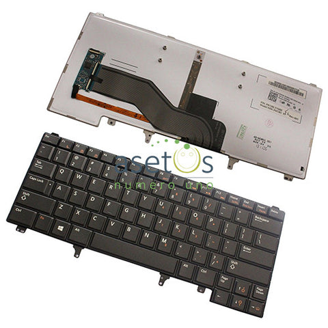 Dell Latitude E6320 E5420 E6220 E6420 Laptop Replacement Keyboard - US Layout