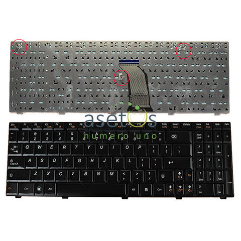 Lenovo IdeaPad G560 G560A G565 G560L Laptop Replacement Keyboard - US Layout