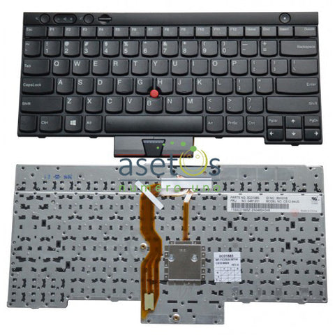 Lenovo IBM Thinkpad T430, L530, T430, T430si, T530 Laptop Replacement Keyboard - BLACK