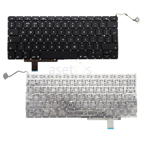 MacBook  Pro 17 inch Model A1297 |  Laptop Replacement Keyboard - UK/US Layout