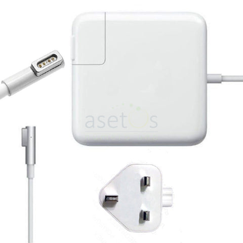 60W Magsafe 1 Apple MacBook Pro Generic Laptop Charger | AC Adapter (16.5V 3.65A) Model A1184 A1330 A1344