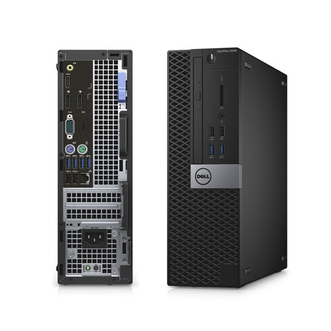 Dell Optiplex 5040 SFF 6th Gen Core i5-6500 QC 6MB 4T 3.2GHz, 4GB MEM, 500GB 7200TPM HDD,  HDMI, Win 10 Pro (Refurbished)