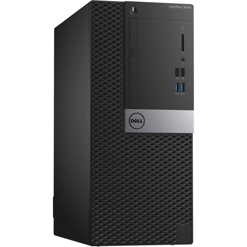 "Dell OptiPlex 3040 Minitower Desktop PC - Intel Core i7-6700 3.50GHz , 16GB DDR4 memory, 2000GB 3.5"" SATA Hard Drive, Win 10 Pro (Used)"