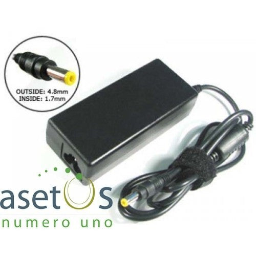 65W HP Laptop Charger with Yellow Tip | 4.8*1.7mm (18.5V 3.5A)