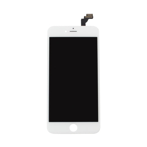 iPhone 6 Plus LCD Screen and Digitizer - White(Premium Aftermarket)