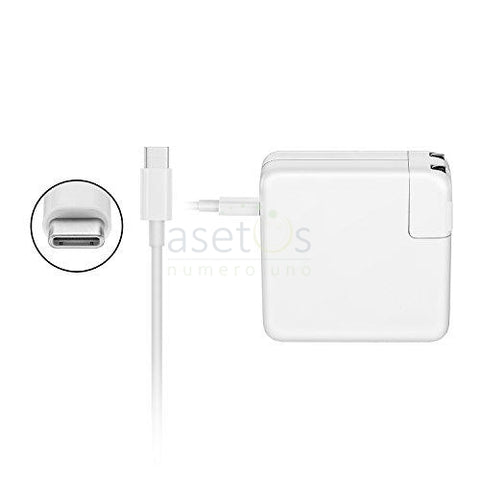 61W USB Type C  Apple MacBook Pro Generic Laptop Charger | AC Adapter (20.3v 3a or 9v 3a or 5.2v 2.4a)