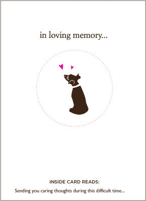 Pet Loss Sympathy Cards - Snooty Paws - 3