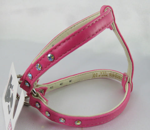 Step in Harness - Hot Pink- Luxepets - Snooty Paws