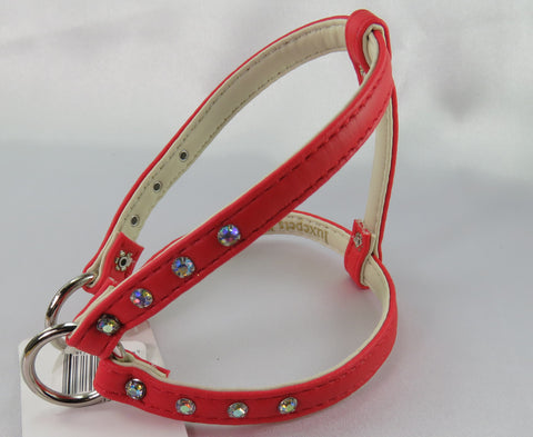 Step in Harness - Plush Red- Luxepets - Snooty Paws