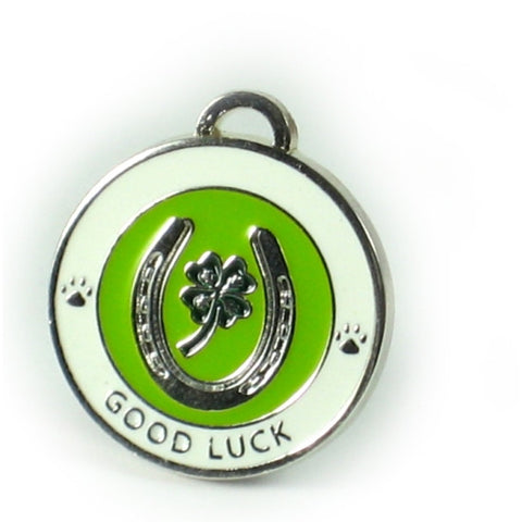 Lucky Pet Medallion/Tag Horeshoe - Snooty Paws