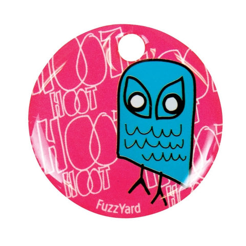 Owl Mini ID Tag - Snooty Paws