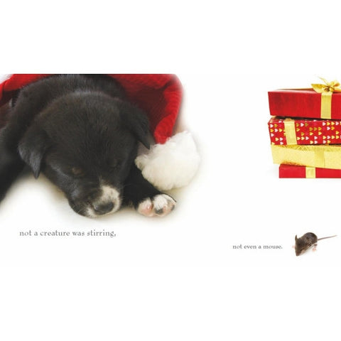 The Night Before Christmas Book - Snooty Paws - 1