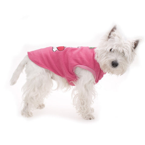 Pink Puppy Heart Pyjamas - Snooty Paws - 1