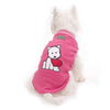 Pink Puppy Heart Pyjamas - Snooty Paws - 2