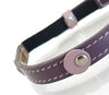 Purple Spot Kitty Collar - Snooty Paws - 3