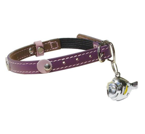 Purple Spot Kitty Collar - Snooty Paws - 1