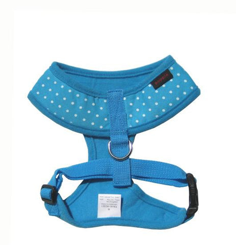 Puppia Blue Dotty Harness - Snooty Paws - 1