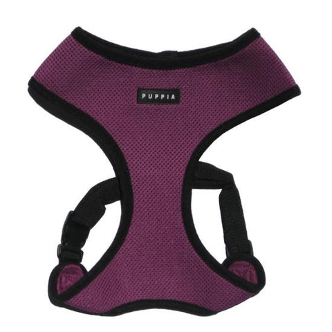 Puppia Purple Soft Harness - Snooty Paws - 1