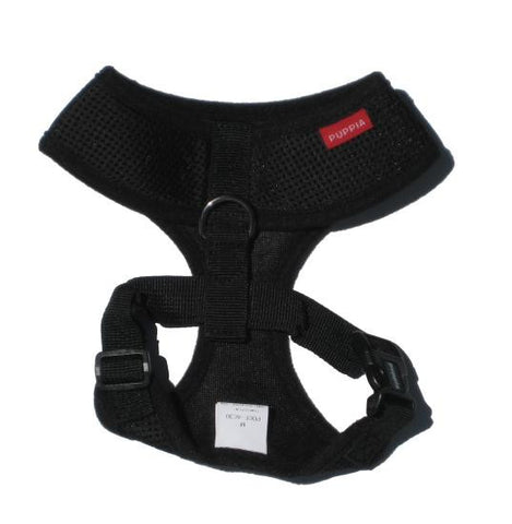Puppia Black Soft Harness - Snooty Paws - 2