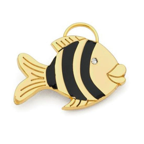 Gold Fish ID Tag - Snooty Paws