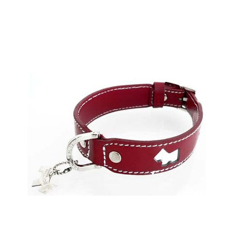 Haute Red Dog Collar - Snooty Paws - 1