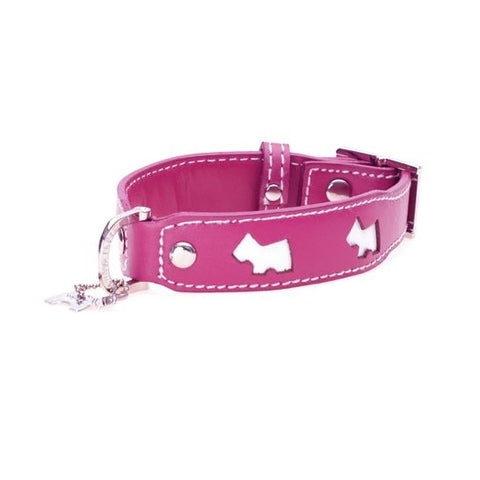 Haute Pink Dog Collar - Snooty Paws - 1
