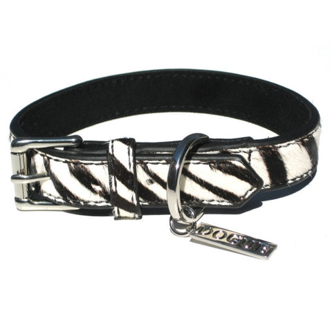 Zebra Pony Collar - Snooty Paws