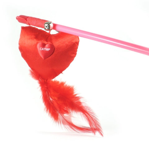 Red Heart Cat Toy - Snooty Paws