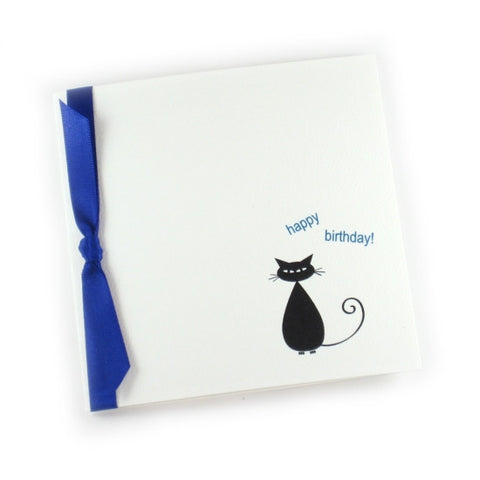 Happy Birthday Kitty Card - Snooty Paws - 1