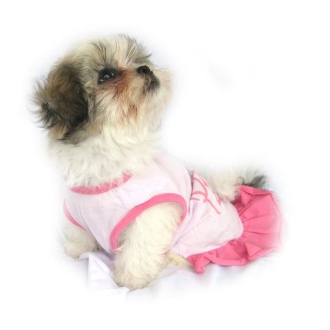 Pink Princess Dog Dress - Snooty Paws - 1
